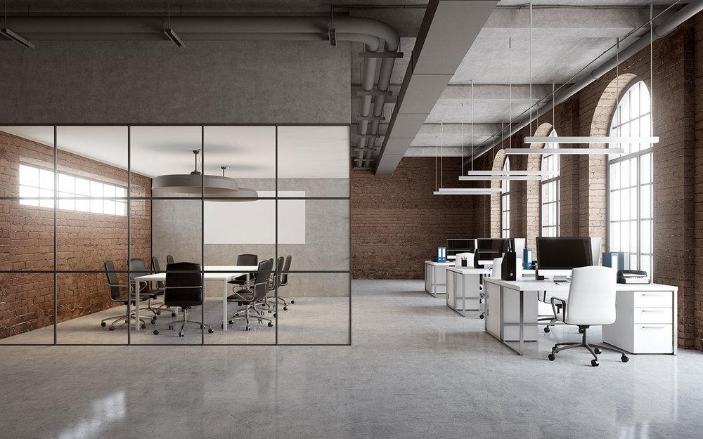 Büroausstattung mieten. - Schreibtische, Stühle, Laptops & vieles mehr