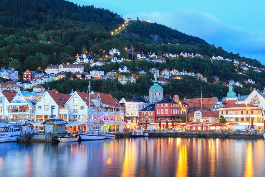 Bergen - Fedje -