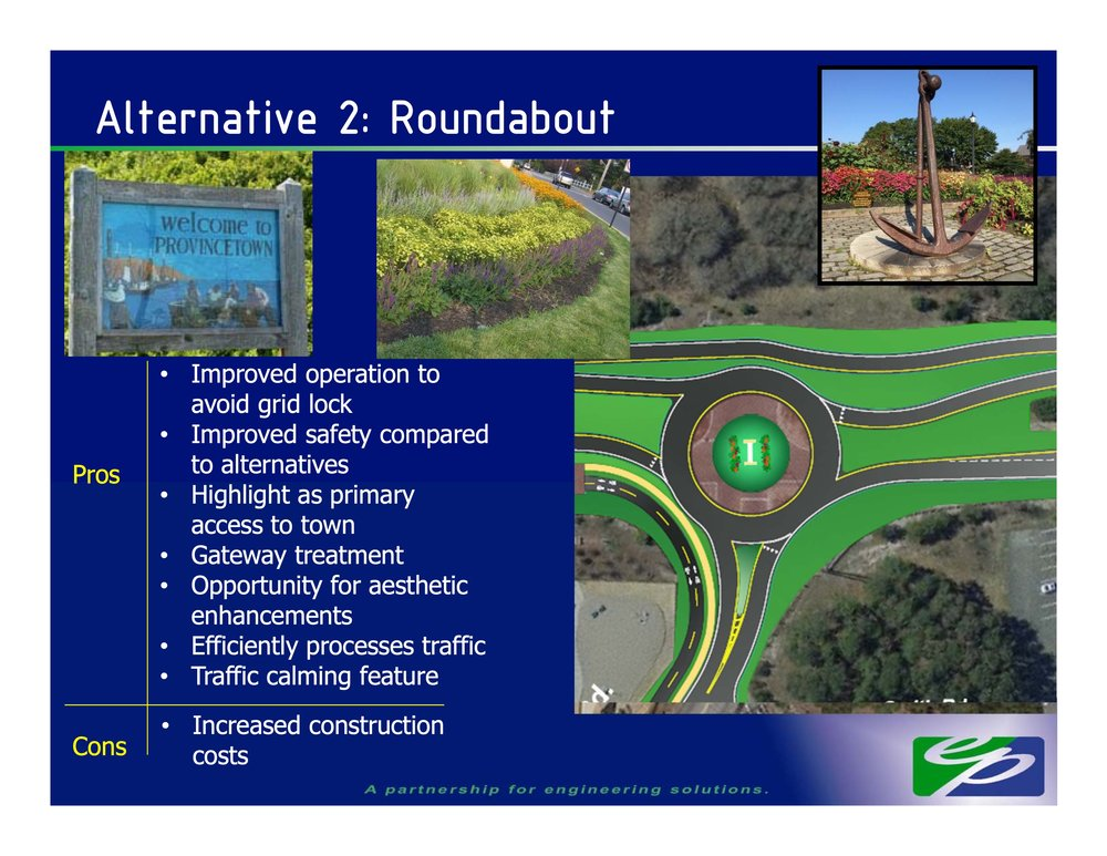 Roundabout proposed at Shank Painter Road and Route 6