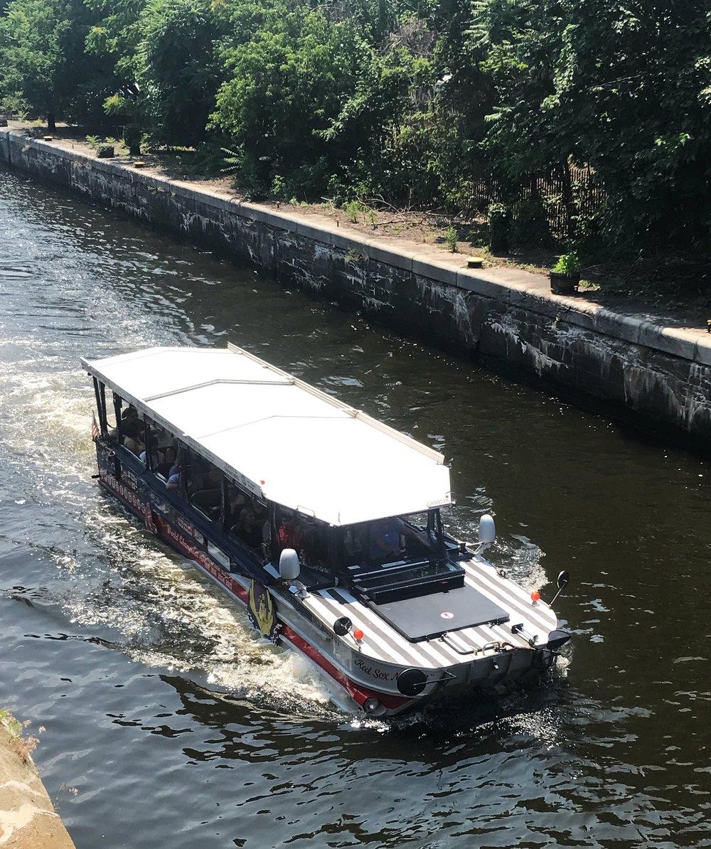Boston 3 day itinerary Boston Duck Tour Boat