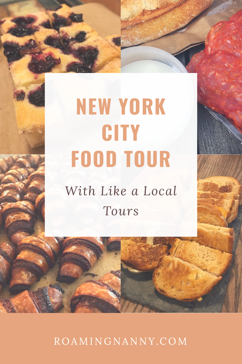 New York City Food Tour with Like a Local Tours