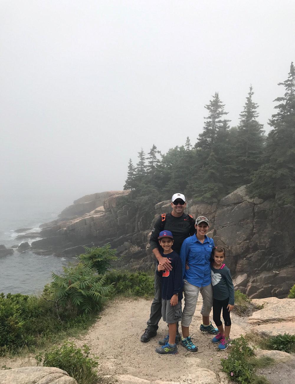 Ocean Path acadia national park maine
