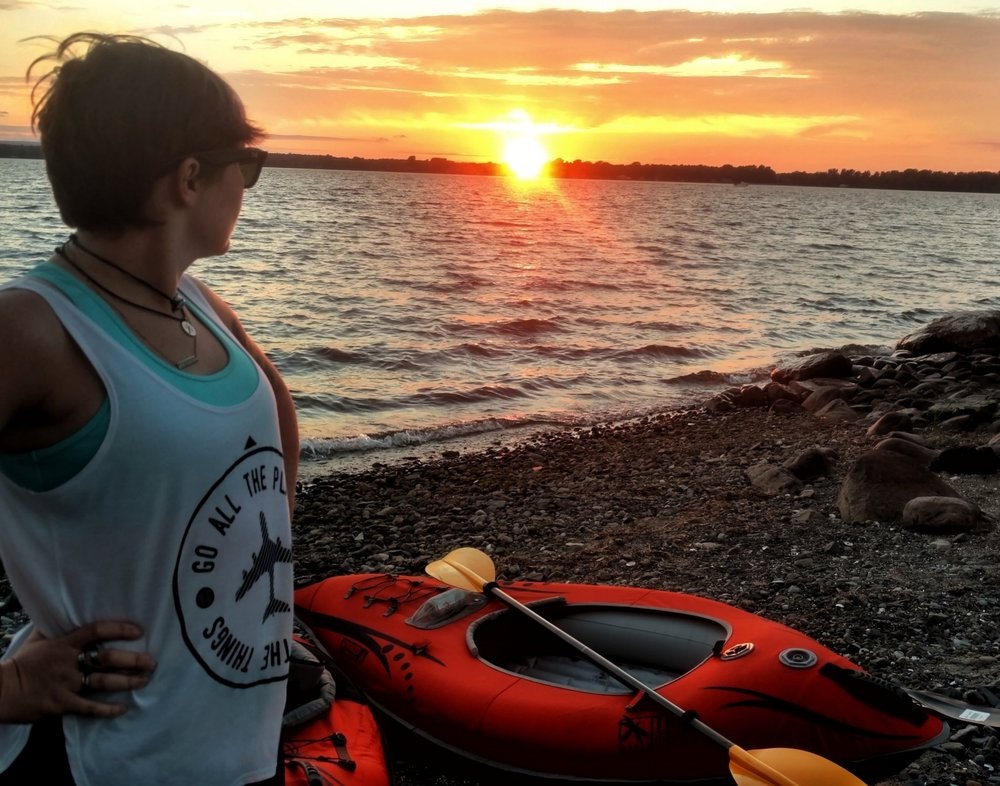 Everyday Adventures - Sunrise or sunset