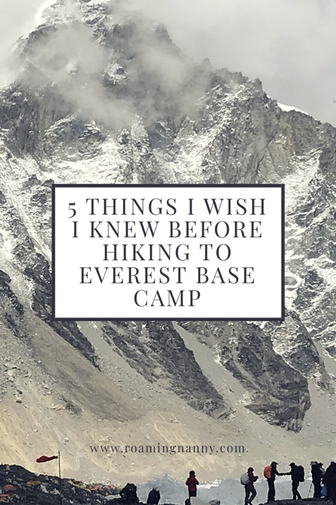 5 Things I Wish I Knew Before Hiking to Everest Base Camp