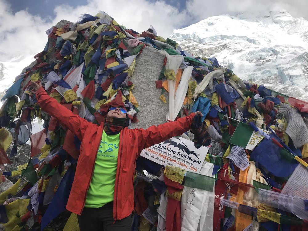 Everest Base Camp, Nepal - April, 2018