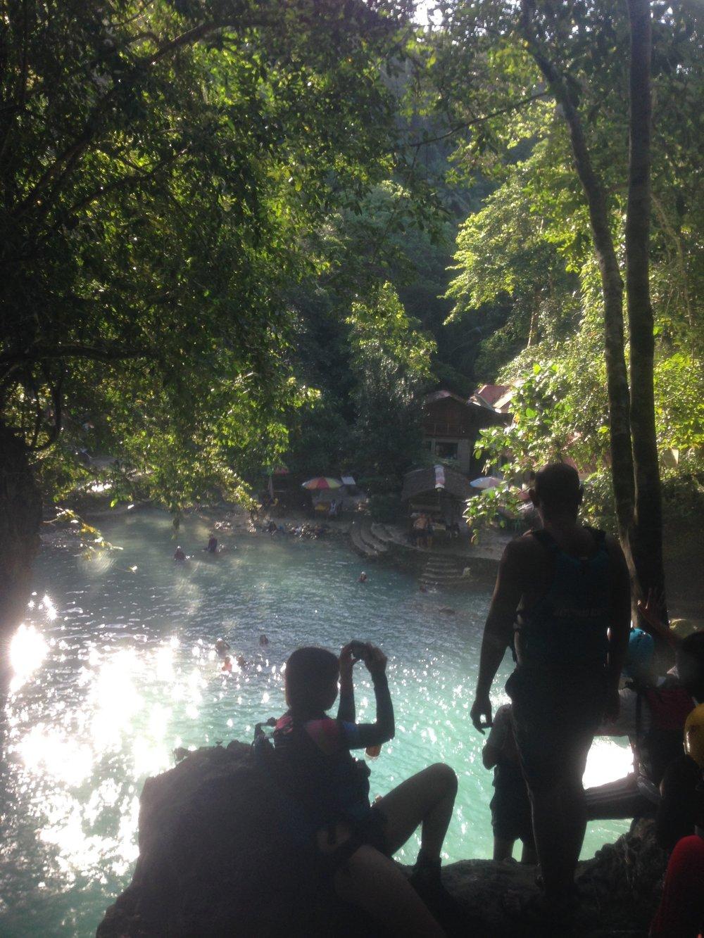 Canyoneering Kawasa waterfall Philippines - 1