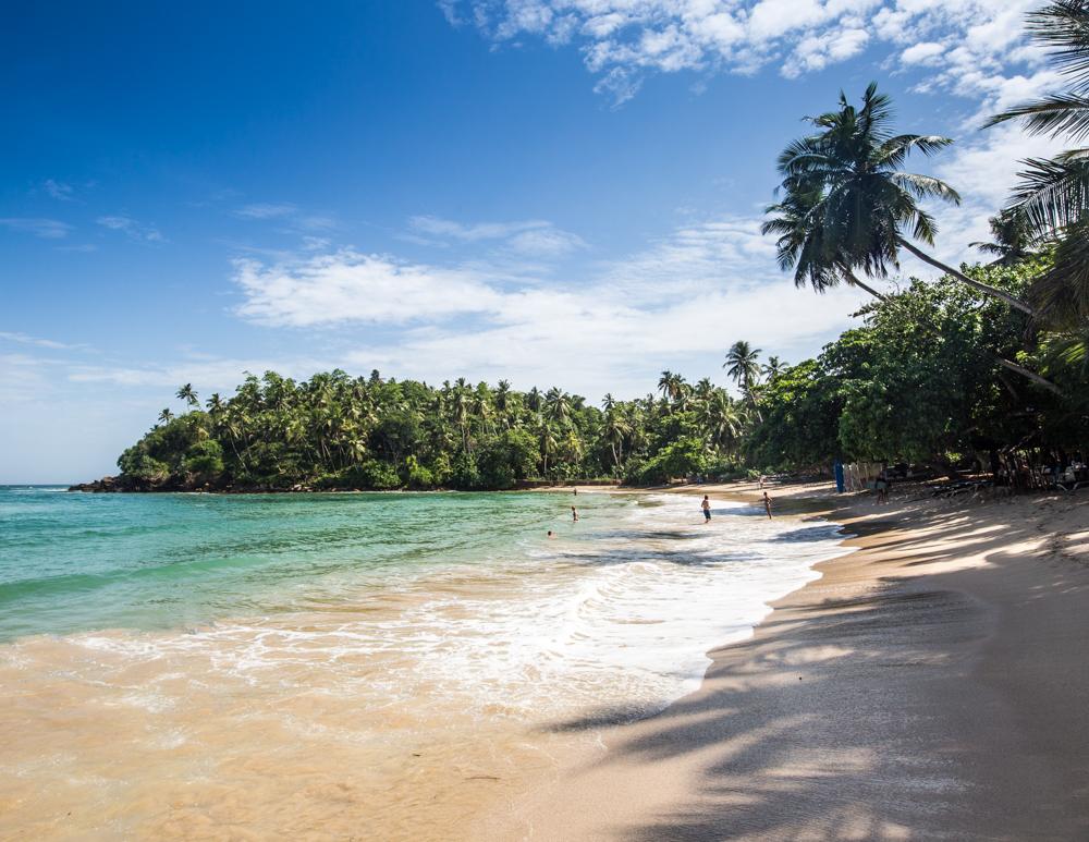 Best Beaches to Beat the Winter Blues - Hiriketiya Beach, Sri Lanka