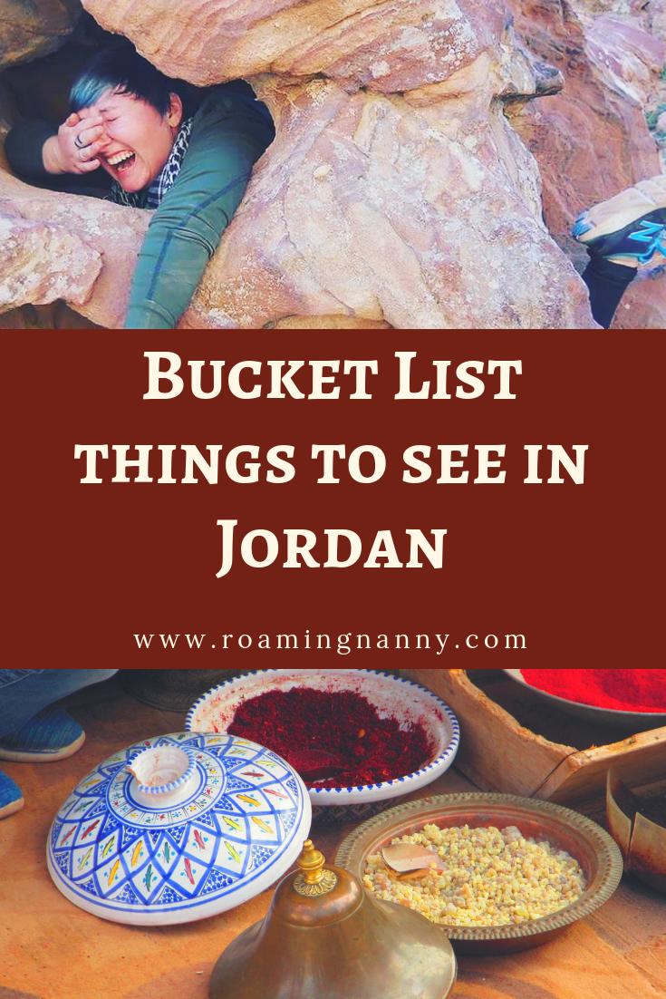 Bucket List Things to see in Jordan