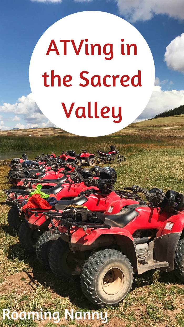 ATVing in the Sacred Valley