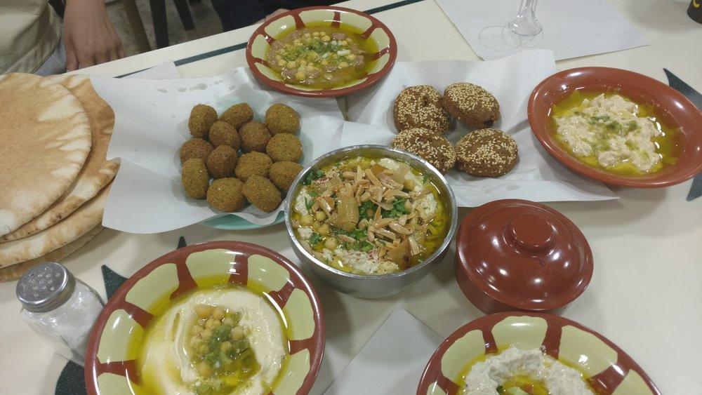 Bucket List Jordan Falafel and Hummus