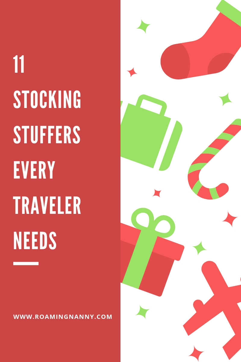 11 Stocking Stuffers every Traveler needs
