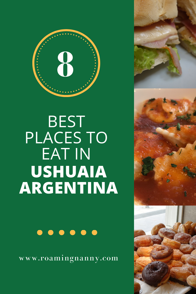 Choosing the best places to eat in Ushuaia Argentina is a challenge. Here are 8 of my favorite restaurants in Ushuaia. #ushuaia #argentina #food #foodie #bestplacestoeat #restaurant