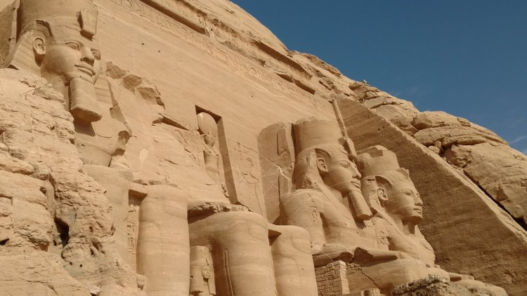 Best Egyptian Temples see Abu Simbel
