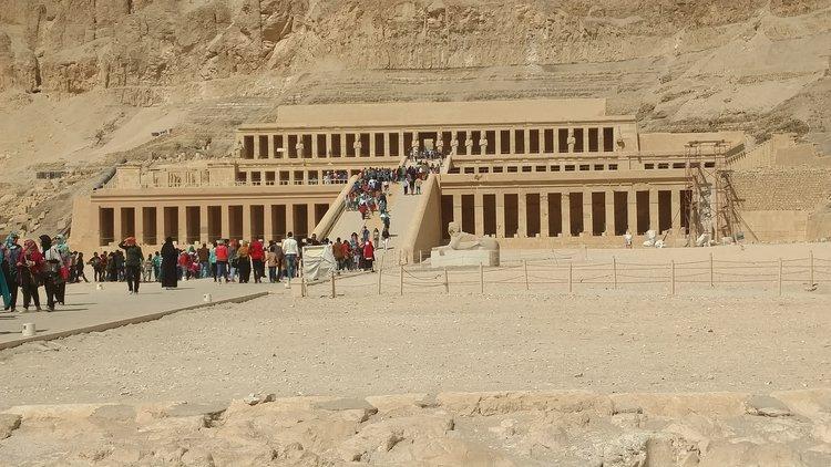 Egyptian Temples Mortuary Temple of Hatshepsut
