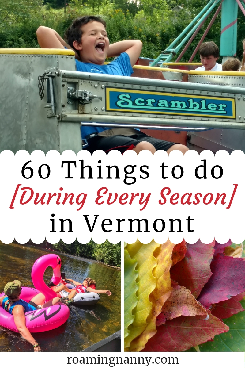Things to do [During Every Season] in Vermont #winter #spring #summer #fall #vermont