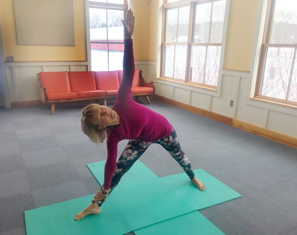Yoga for Hikers - Triangle