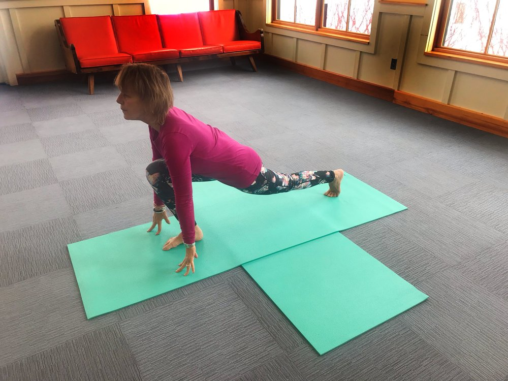 Yoga for Hikers - Lunge