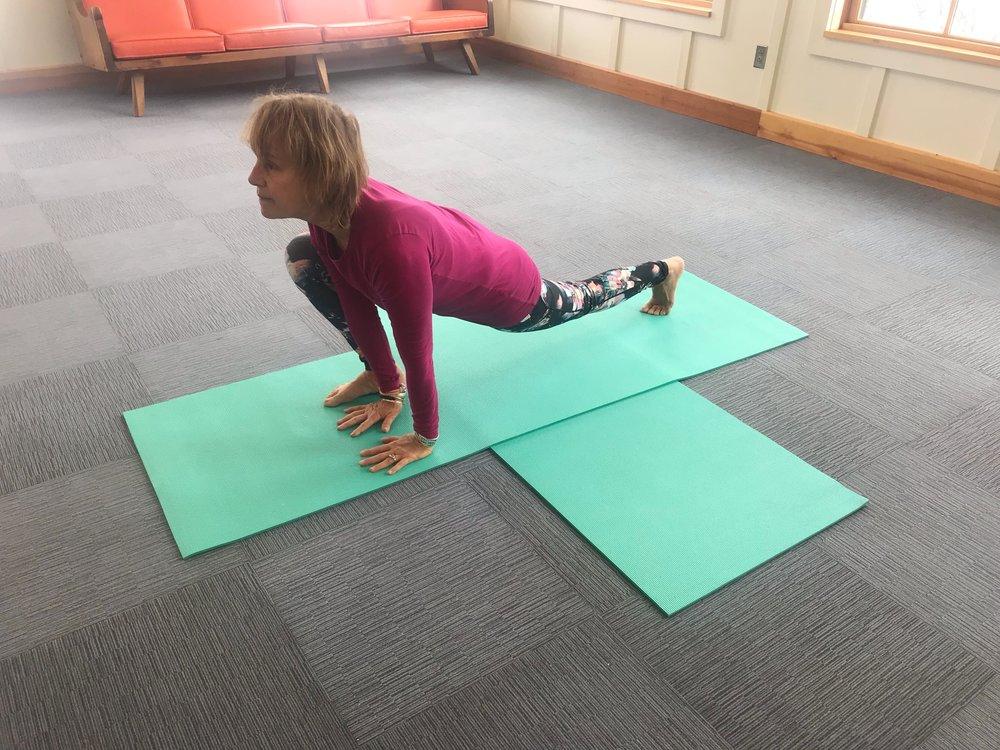 Yoga for Hikers - Crocodile