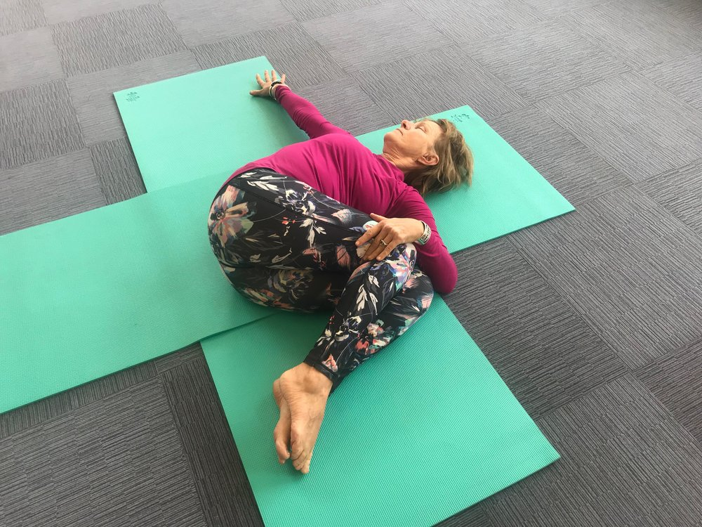 Yoga for Hikers - Spinal Twist