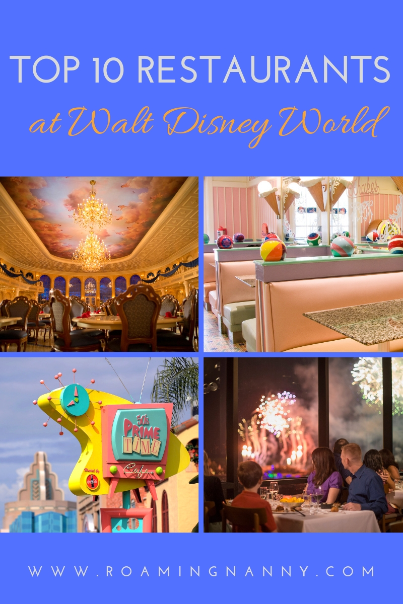 Top 10 Restaurants At Walt Disney World