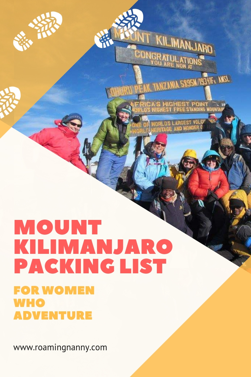 Climbing Mount Kilimanjaro is an adventure. Packing for it shouldn't be. Use this packing guide to help prepare for this epic hike. #hike #mountkilimanjaro #packinglist