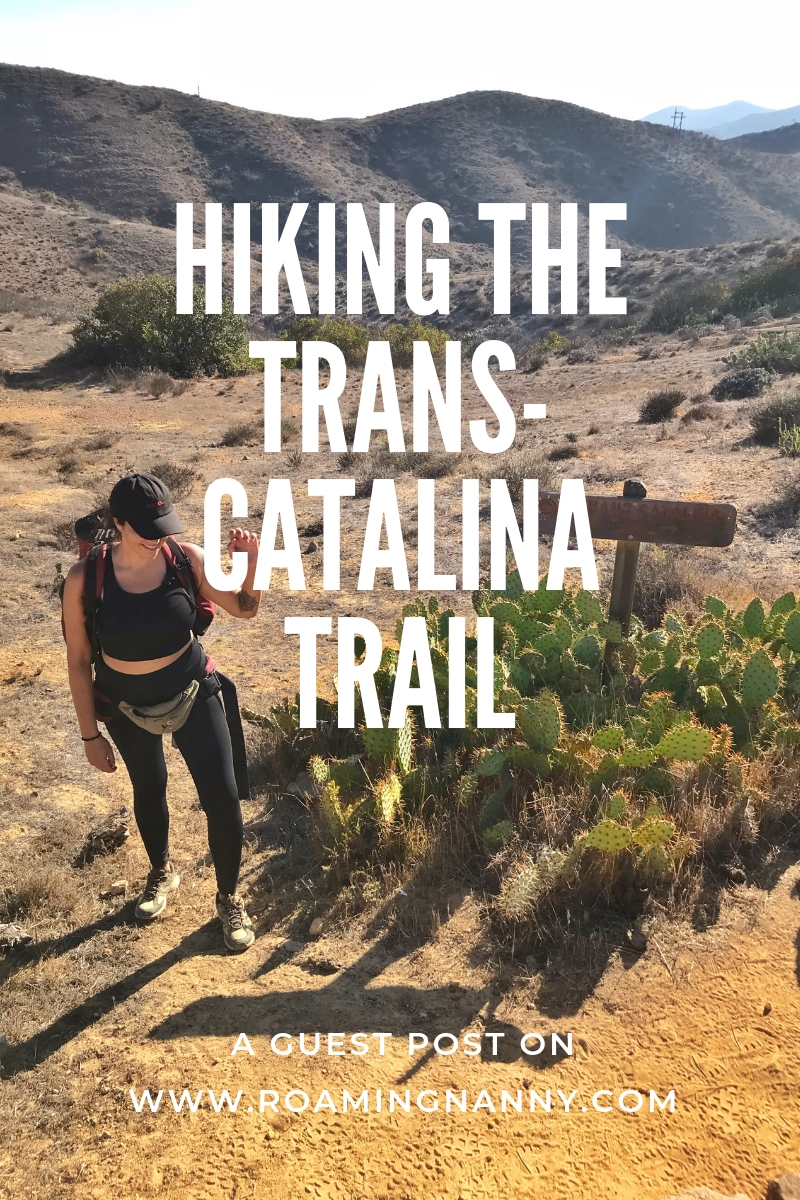 Opt outside for a weekend and hike the Trans-Catalina Trail on Catalina Island off the coast of California. #calironia #hiking #transcatalinatrail #girlswhohike #guestpost