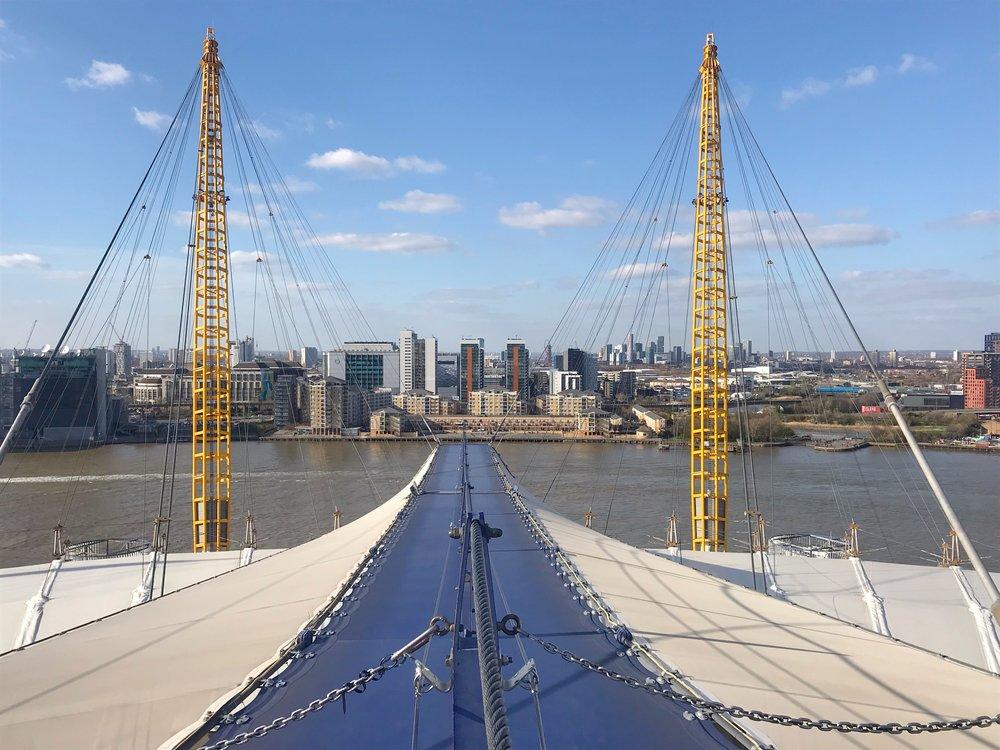 Visit London - Up at the O2