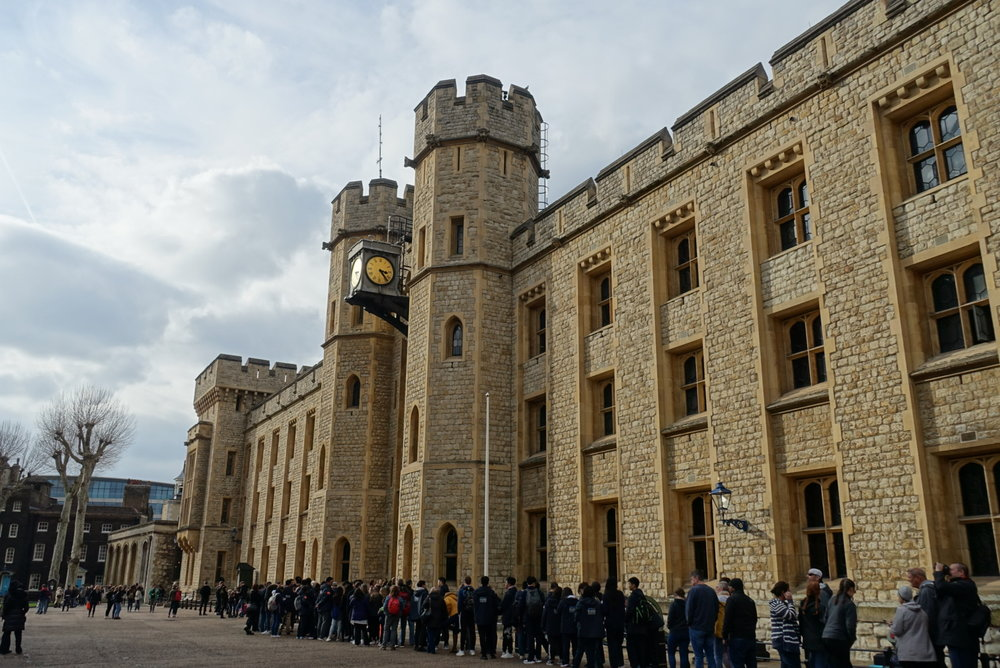 Top Attractions in London the Tower of London