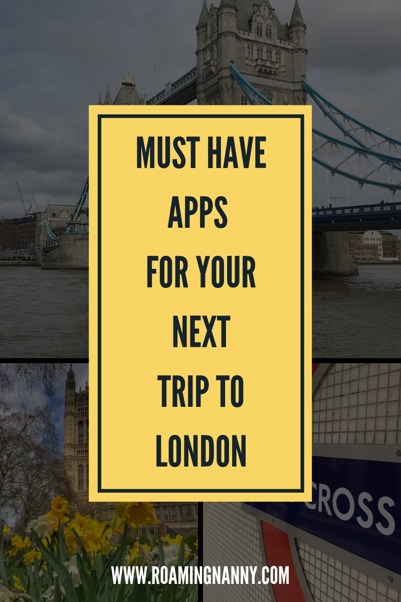 Must have Apps for your next trip to London