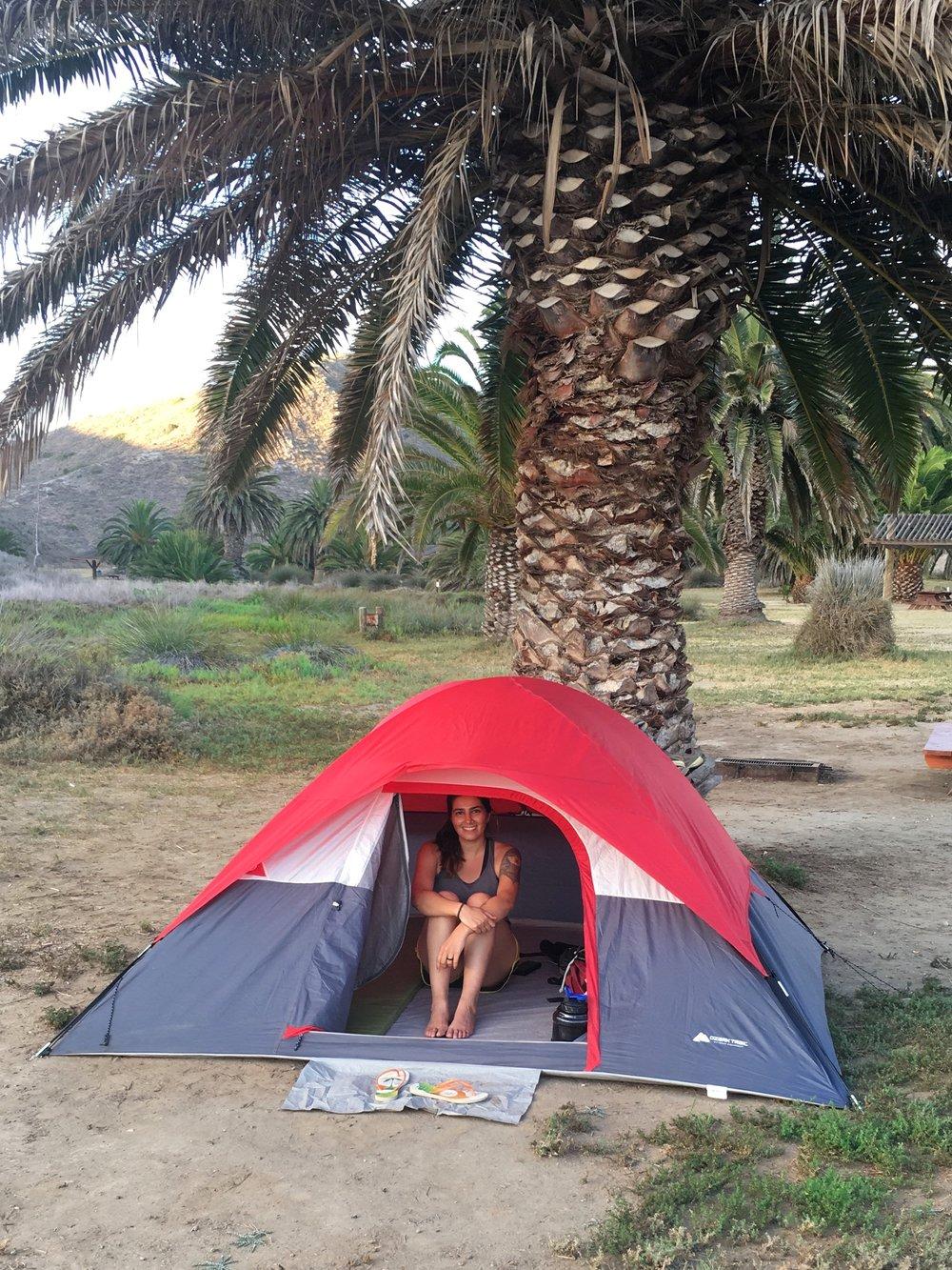 Trans Catalina Trail Camping