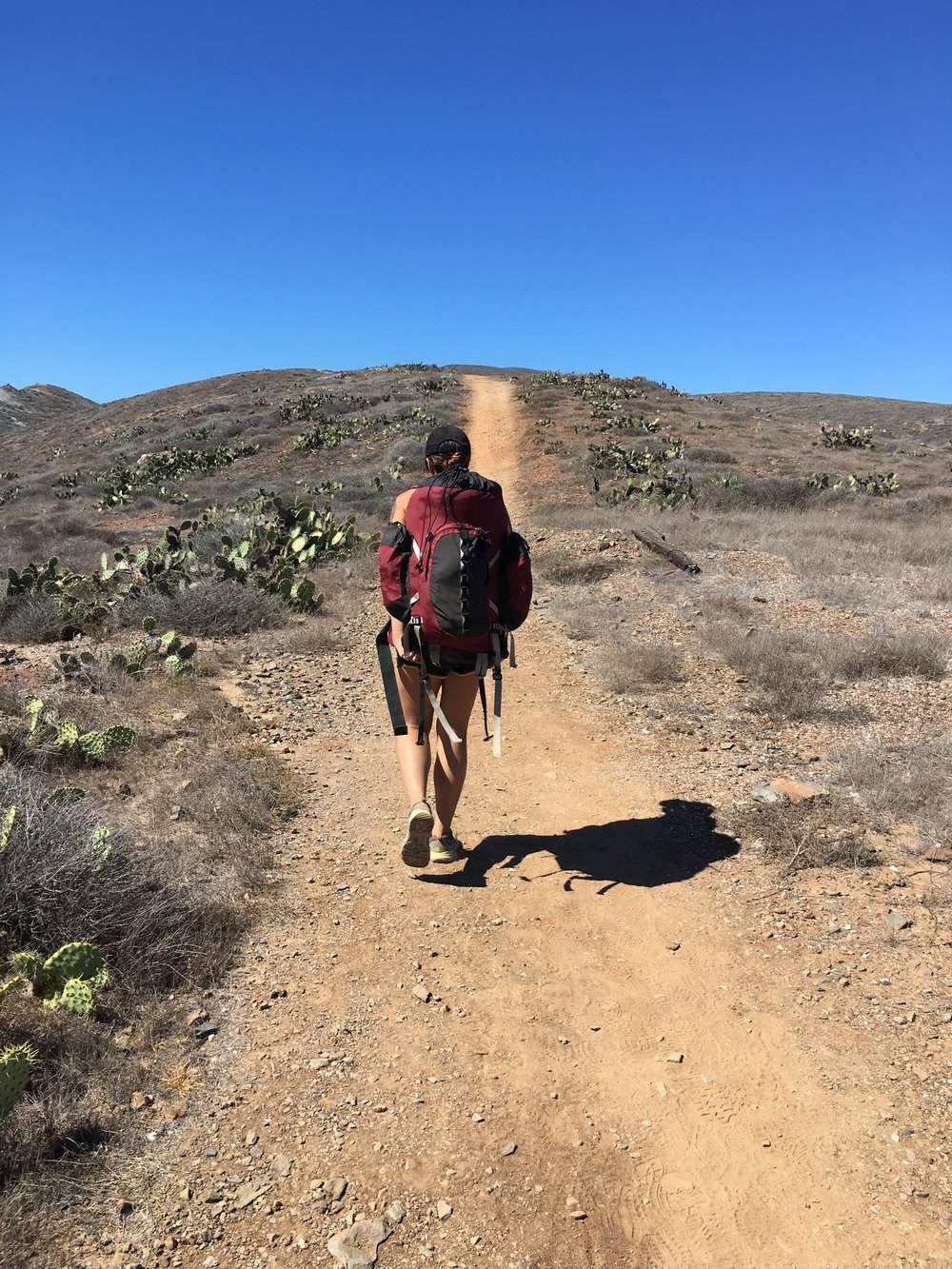 Hiking the Trans Catalina Trail