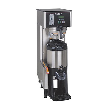 Stores individual coffee recipes so operator can easily brew many varieties    ThermoFresh® servers are vacuum insulated to keep coffee hot for hours    Brews 0.5, 1 or 1.5gal (1.9, 3.8 or 5.7L) batches    Energy saver mode