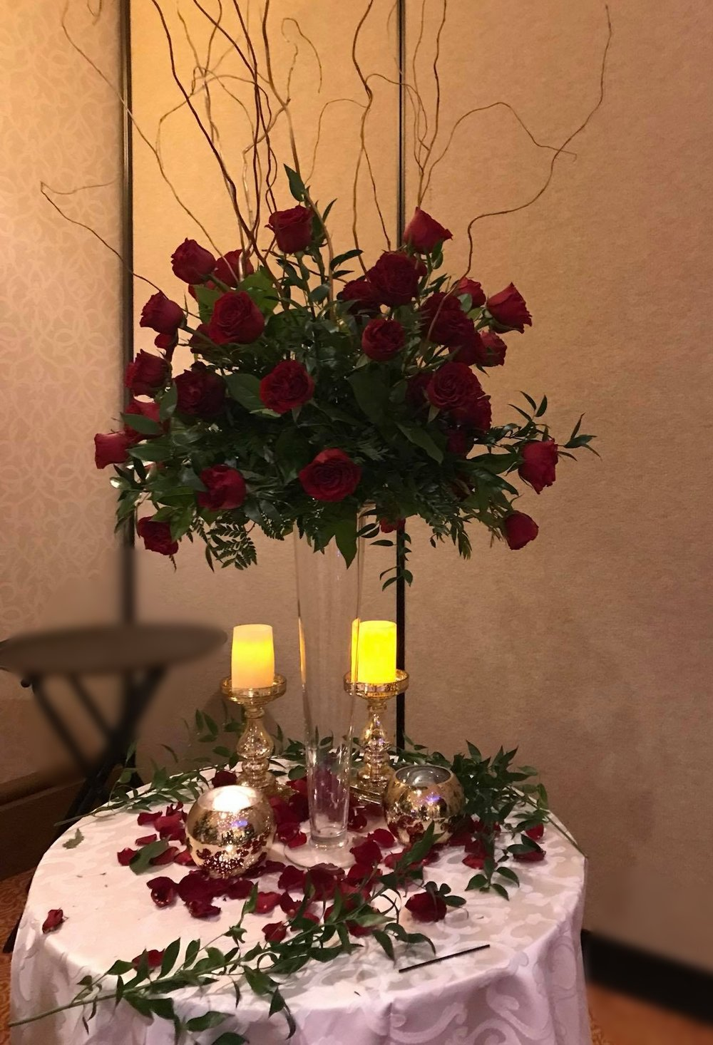 40 roses for 40 years - Vow Renewal- Diamonds and Pearls Events.jpg