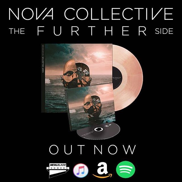 "@novacollectivefusion ""The Further Side"" is out today! So glad to finally have this album out after almost two years since its inception."