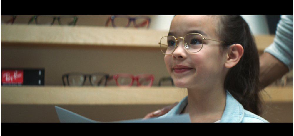 """Olivia,"" a powerful new commercial from Pearle Vision and  Energy BBDO ."