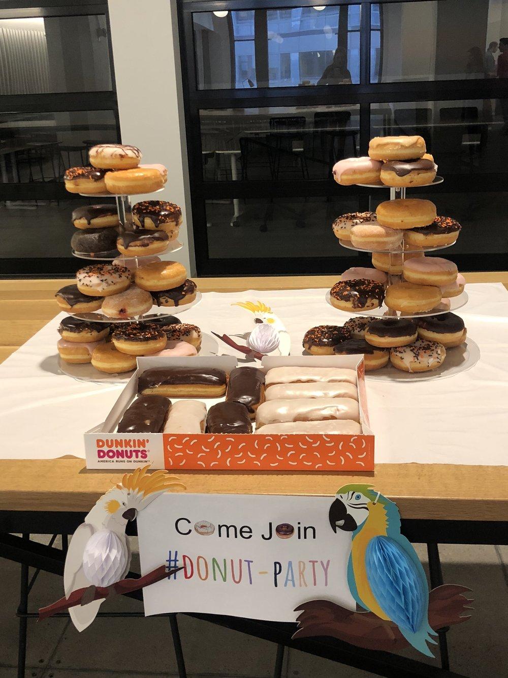"Narrative Science ""Donut"" Kick-off Party"