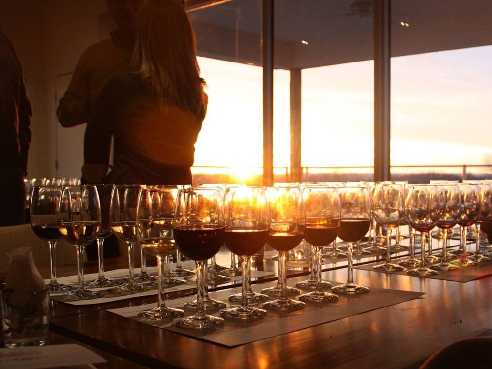 Come to an Event - Join us for a wine dinner, harvest day, and other special occasions.