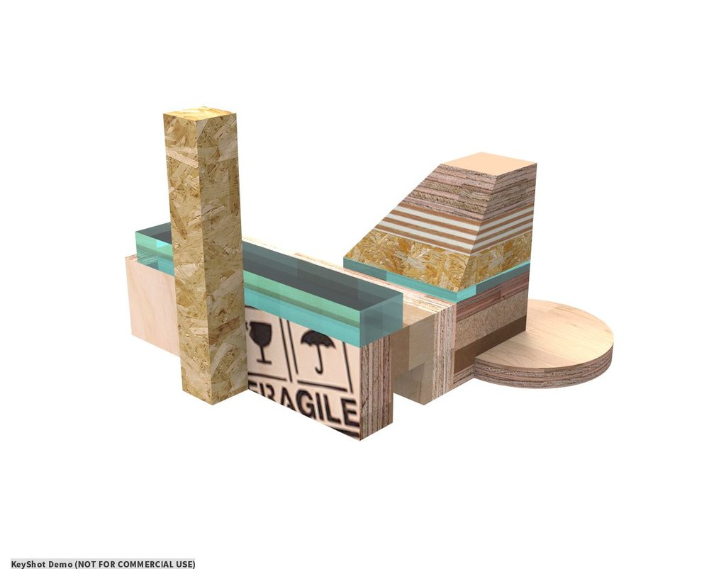 Block designs based on Tate Modern's architecture