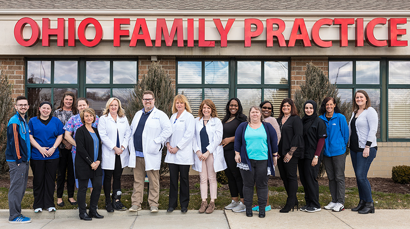 The Ohio Family Practice team