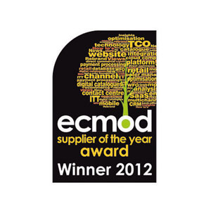 Winner of the 2012 supplier of the year award