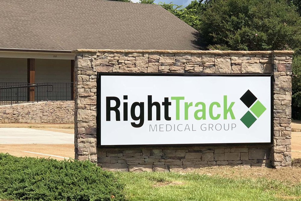 Right Track Medical Group is located at is located at  1203 Medical Park Drive , off Belk Boulevard in the former location of Oxford Pediatric Group.