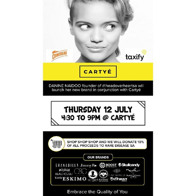 15 minutes to go. Sponsored by @taxify.za & @cointreau - @headoverheartsa launches their products in our stores today. 🌸 WELCOME HOME! Pop through. It's about to get a little hearty. 💕#hohsalaunch #hohsaxcartye