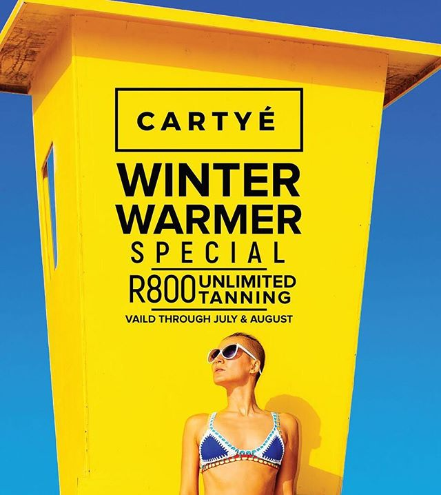 It's almost time for the sun to come out and play and we all know that summer bodies are definitely made in winter. @_cartye WINTER WARMER SPECIAL is officially underway. R800 for unlimited tanning valid through July & August. 🔥 #tancan #tan #tanlines #bodyglow