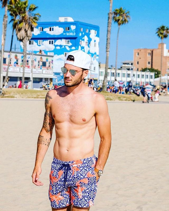 Limited Edition Koi 🐠 from @granadilla.swim. Available @_cartye 🌻 #mensswimwear #granadillaswim #bodygoals