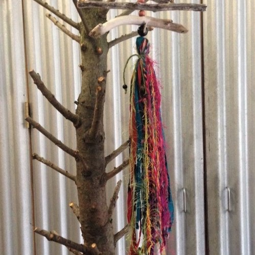 Color Burst Sun Catcher - Bring the Great Lakes beaches and colorful sun rays to your space! Choose hand-collected, water-worn and sun-kissed Great Lakes driftwood; then add beads and colorful fun fibers to do just that! Give it the perfect finishing touch by adding your choice of dangling accents. From brights to pastels, and many different textures, you'll have fun choosing the combination that fits your style! Ages 10+, approximately 1 1/2 - 2 hours.Instructor: Lisa JarrellWorkshop fee: $20 per person, minimum 6, maximum 12