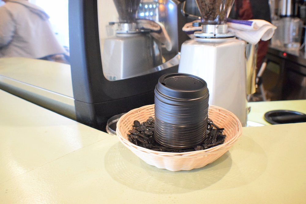 Preventing spills one to-go cup at a time at Caffèology.