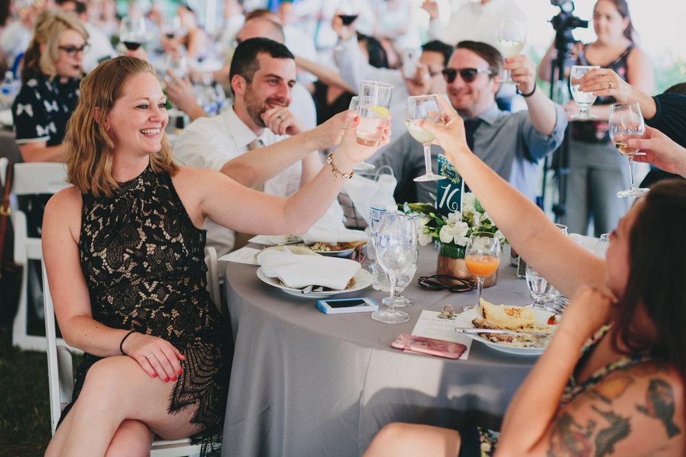 Wedding Toast Tips - Make an Outline. Social Maven | Buffalo Wedding Planners