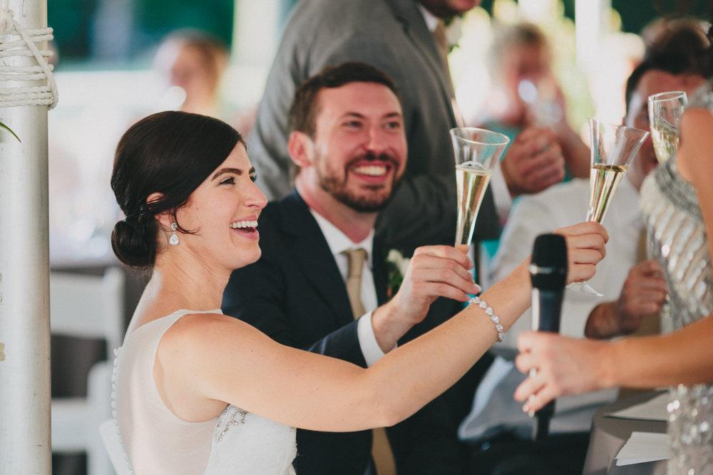 Wedding Toast Tips - Adress the Couple. Social Maven Wedding & Events Planners New York