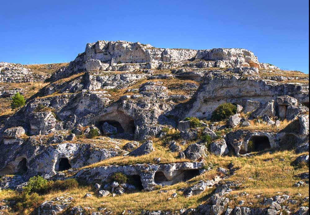 - Visit Matera's ancient churches carved into the rocks called Rupestrian Churches n Murgia National Park.
