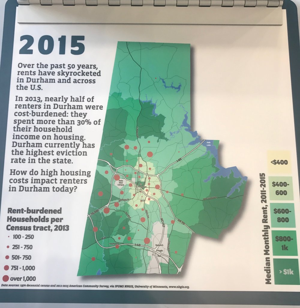 Map by Tim Stallman at Bull City 150